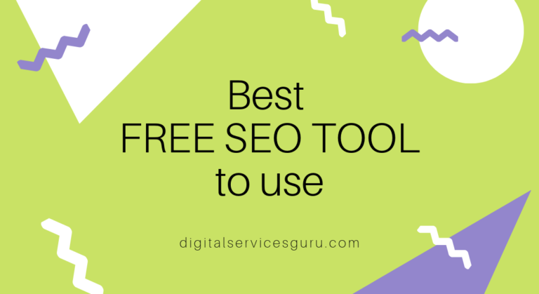 What is the Best Free SEO Tools in 2019?