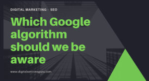 Which Google algorithm should we be aware in 2019 of while doing SEO?